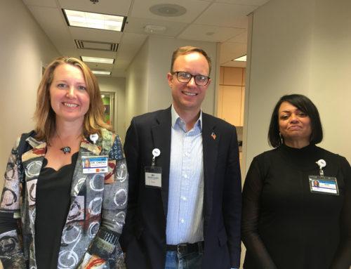Colorado State Representative Visits MarillacHealth